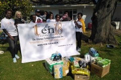 Tenf18-SA-Team-proceeding-to-donation-of-some-important-items-at-Miracle-Mission-Orphan